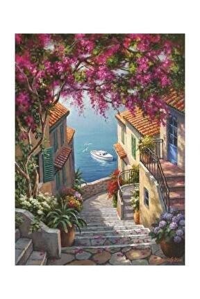 1088 Kıyı Merdivenleri 1000 Parça Puzzle