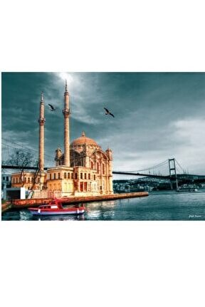 3171 Anatolian Ortaköy Cami Nostalji 1000 Parça Puzzle