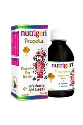 Propolis 13 Vitamin+4 Mineral Kış Şurubu Yeni Kutu