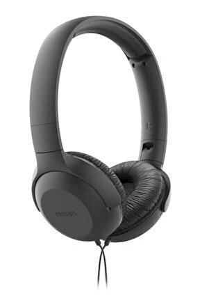 TAUH201BK/00 Mikrofonlu Kafa Bantlı Kulaklık Siyah