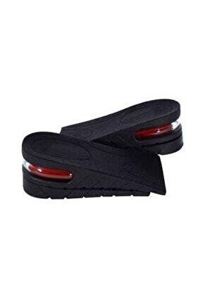 Ünisex 5 Cm Tam Boy Uzatıcı Tabanlık Hava Yastıklı Uzatan Ayakkabı Tabanlığı Gizli Topuk Yükselten