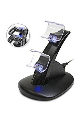 Dualshock 4 Şarj Standı Ikili Hızlı Şarj Ps4 Işıklı