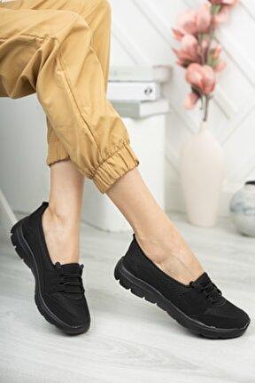 Kadın Sneaker Rahat Ortopedik Taban Günlük Ayakkabı Kadın Babet