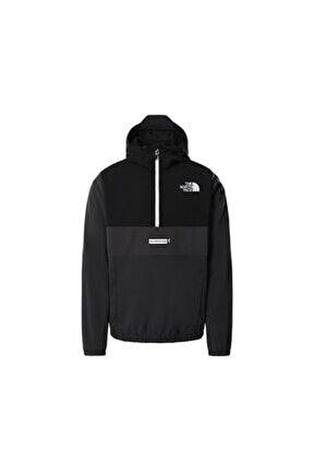 M Ma Wind Jkt - Eu Erkek Outdoor Sweatshirts Nf0a5ıbs0c51 Siyah
