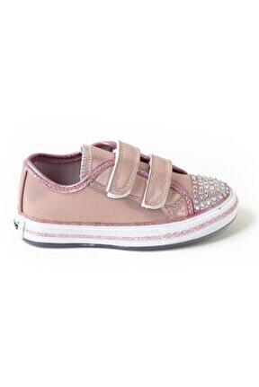 Kız Çocuk Pembe Ortopedik Spor Ayakkabı