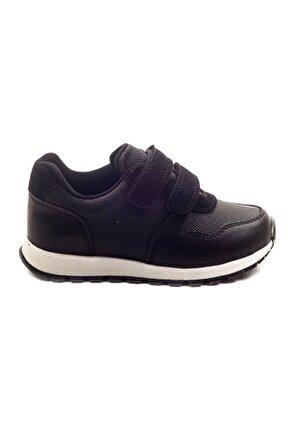 Erkek Cocuk Siyah Ortopedik Destekli Ayakkabı