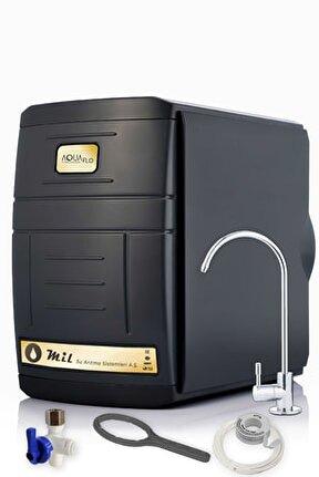 Black 14 Aşamalı 8 Filtreli 12 lt 80 Gpd Lg Membranlı Kapalı Kasa Su Arıtma Cihazı (SKNP14-M-L)