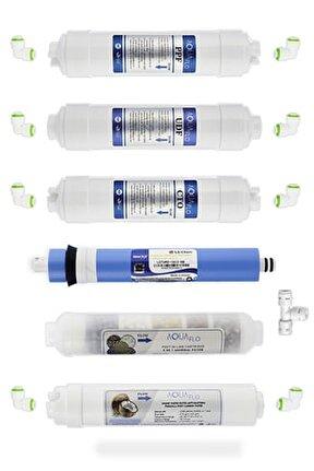 Kapalı Kasa Su Arıtma Cihazı 10lu Filtresi Lg Membran Set