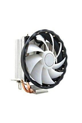 Coolmoon Rgb Işlemci Cpu Fanı Amd Intel Lga 1150, 1151, 1155, 1156, 1366, 775 Core I3, I5, I7 Fan