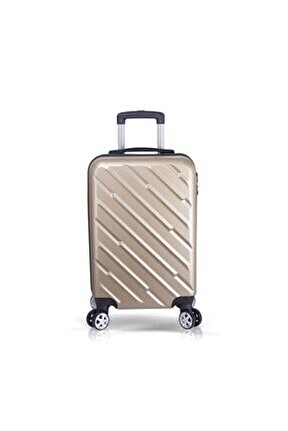Gold Unisex Kabin Boy Valiz TR0458