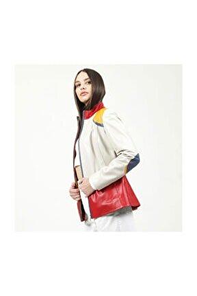 Melenia Model Deri Kadın Ceket