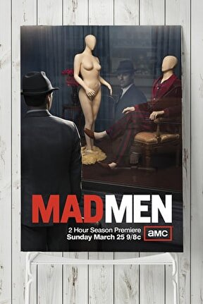 Mad Men Dizi Afişi Poster 2 (40x60cm)