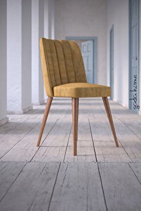 Arven Kare Gold Sandalye