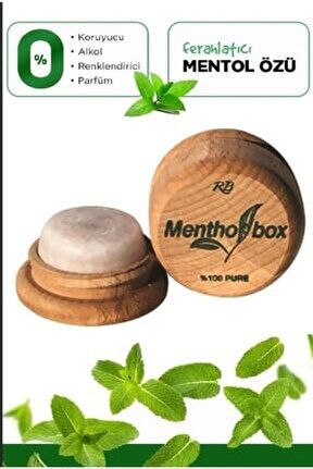 Mentol Migren Taşı Sinüsit Taşı Ağrı Giderici Menthol Taşı Aç Kapa Ambalaj 9gr