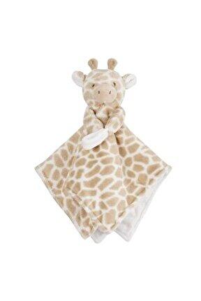 Zürafa Peluş Bej