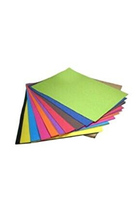 Renkli Fotokopi Kağıdı 80gr. A4 100 Yaprak / 10 Renk