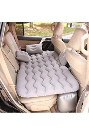 Şişme Yatak Araba Ve Kamp Yatağı Çanta Elektrikli Pompa Tamir Kiti Ve Yastıklı Yatak Seti