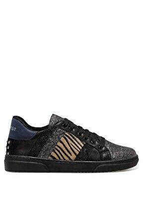 Kadın Siyah Mulpı Fashion Sneaker