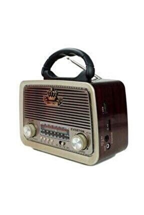Rt-301 Nostaljik Görünümlü Bluetoothlu Mp3 Çalar Radyo Müzik Kutusu