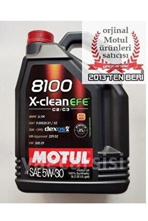 8100 X-clean Efe 5w30 5 Litre C2/c3 Dpf