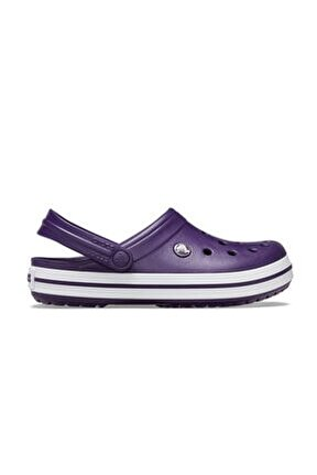Unısex Mor Crocband Sandalet Terlik 11016-55y