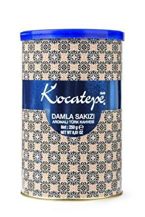 Kocatepe Damla Sakızlı Türk Kahvesi Teneke 250 G