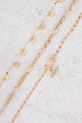 Kadın Gold Rengi Bileklik Plblk034r01