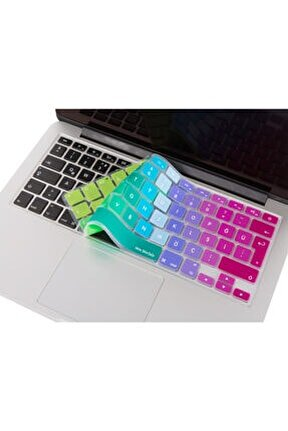 Macbook Air Pro Klavye Koruyucu Kılıf 13inc 15inc 17inc Türkçe Baskı A1278 A1466 1502 Dazzle 321