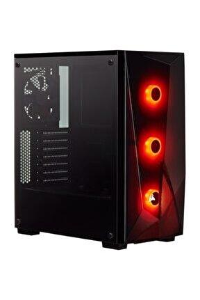 Spec Delta Rgb 650w Güç Kaynağı Temperli Cam Mid Tower Atx Bilgisayar Kasası - Vs650