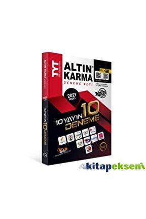 Altın Karma 2021 Tyt 10 Farklı Yayın 10 Deneme Seti