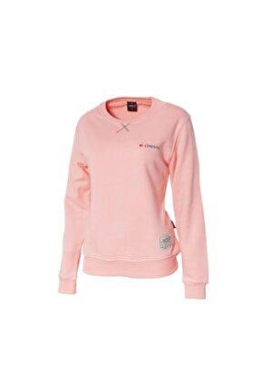 Kadın Pembe Outdoor Basic Sweatshirt