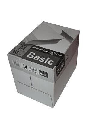 Master A4 Fotokopi Kağıdı 80 gr 1 Koli (5 Paket & 2500 sayfa)
