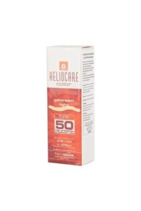 Color Spf50 Gelcream Light 50ml