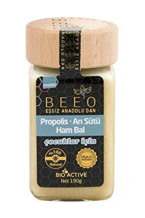 Unisex Çocuk Propolis Arı Sütü Ham Bal Karışımı 190 g