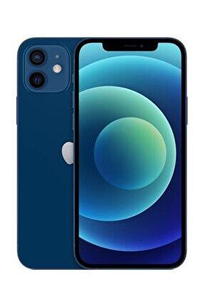 iPhone 12 64GB Mavi Cep Telefonu (Apple Türkiye Garantili) Aksesuarsız Kutu