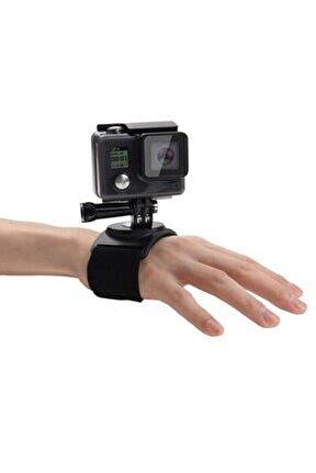 Gopro Aksiyon Kamera Sabit Bilek El Bandı