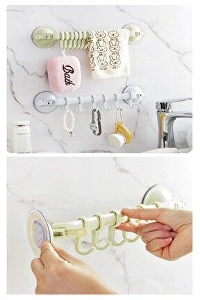 Vantuzlu Mutfak Ve Banyo Askısı 2 Adet
