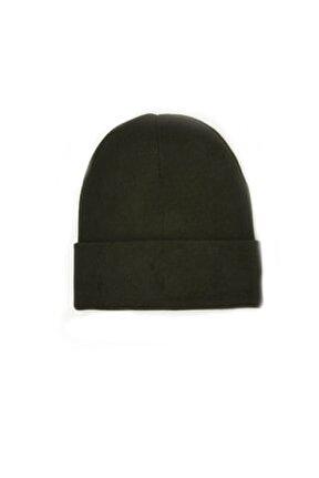 Erkek Katlamalı Bere Şapka Kışlık Haki