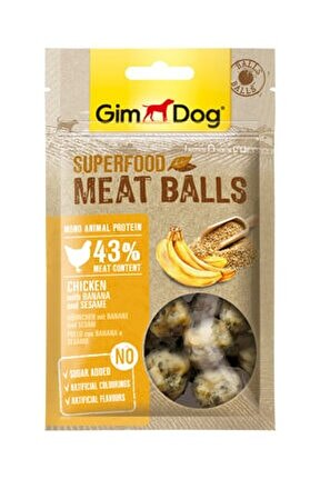 Meatballs Muzlu Ve Susamlı Tavuk 70 gr
