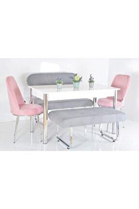 6 Kişilik Masa Sandalye Takımı