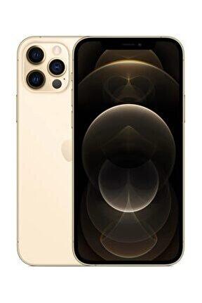 iPhone 12 Pro Max 128GB Altın Cep Telefonu (Apple Türkiye Garantili) Aksesuarsız Kutu