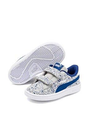 Smash v2 MONSTER FAMILY Unisex Beyaz Bebek Ayakkabı