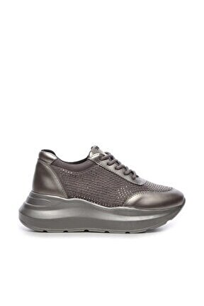 Gri Kadın Vegan Sneakers & Spor Ayakkabı 764 1002 BYN AYK SK19-20