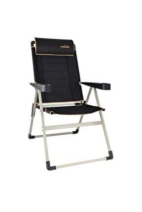 Unisex Siyah Campout Katlanır Lüx Sandalye