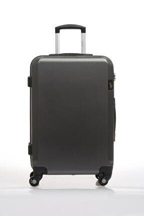 Plvlz9139b Gri Unisex Orta Boy Bavul