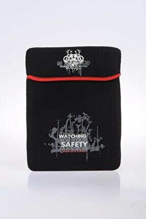 70651-2 Siyah Unısex Tablet Kılıfı