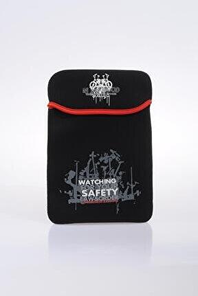 70651-4 Siyah Unısex Tablet Kılıfı
