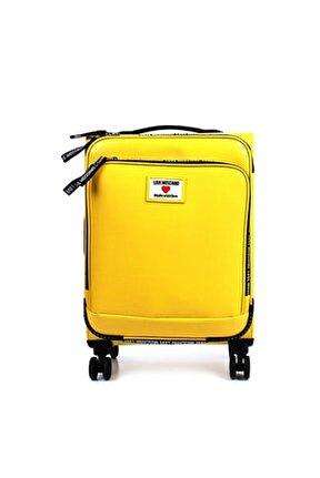 Kadın Sarı Logolu Orta Boy Valiz Jc5100pp1clc140a