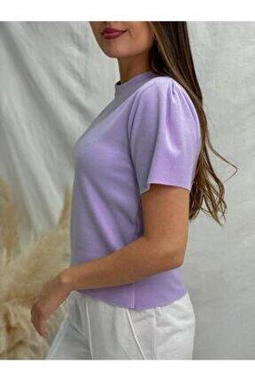 Kol Detay Selanik Basic Tshirt