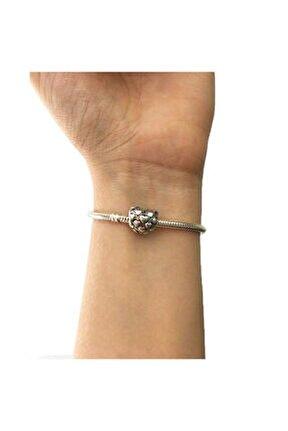 Kalpler Pandora Bileklikleri İçin Gümüş Charm